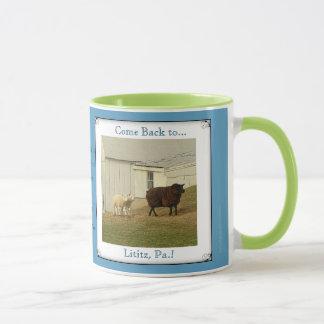 Lititz Pa. MugSheep. Amish Proverb. Mug