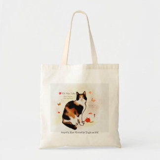 Lit'l Miss Calico Budget Tote Bag