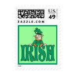 Litle Irish Leprechaun Postage