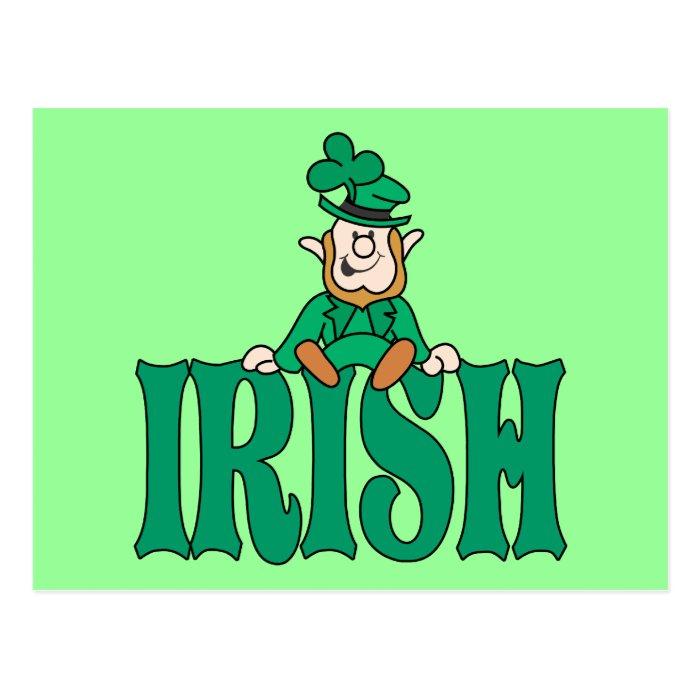 Litle Irish Leprechaun Postcard