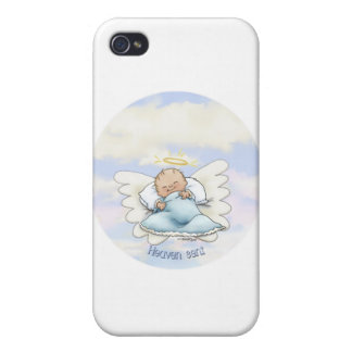 Litlle Baby Boy - Angel sent from above iPhone 4 Cases