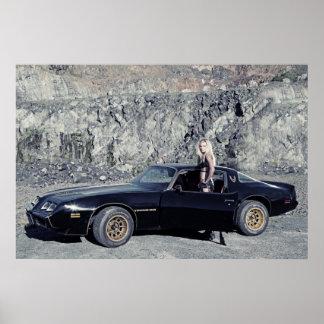 Litro 1979 del transporte 6,6 de Pontiac V8 Poster