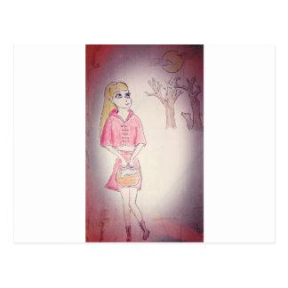Litte Red Riding Hood Postcard