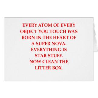litter box card