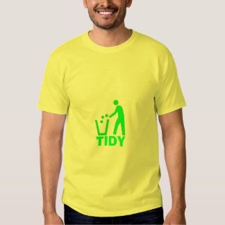 litter-container, TIDY T Shirt