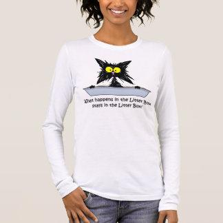 Litterbox Cat Long Sleeve T-Shirt