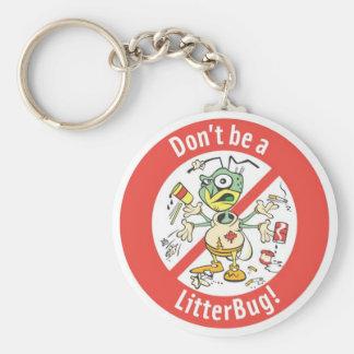 litterbug keychain