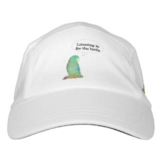 Littering Is For The Birds Headsweats Hat