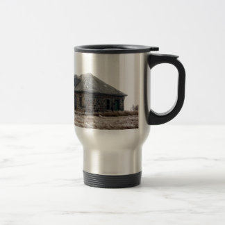 Little abandoned House on the Prairie Travel Mug