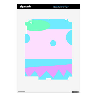 Little Abstract Monster - Decal For The iPad 2