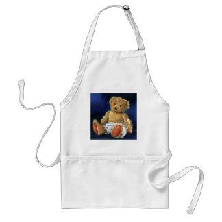 Little Acorn, a Favourite Teddy Adult Apron
