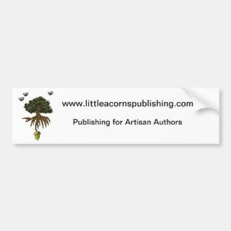Little Acorns Publishing bumper stickers