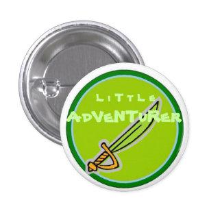 Little Adventurer 1 Inch Round Button