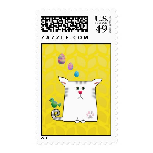 Little Alfie Easter yellow Stamps