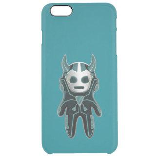 Little Alien Clear iPhone 6 Plus Case