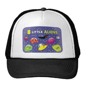 Little Alien Spaceships Trucker Hat