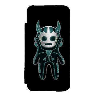 Little Alien Wallet Case For iPhone SE/5/5s