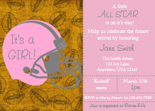 All star themed baby shower invitations zazzle little all star themed girl baby shower invitation filmwisefo