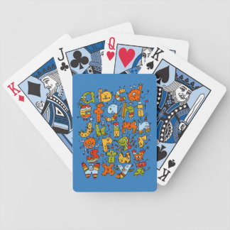 Little Alphabet Monsters Playing Cards