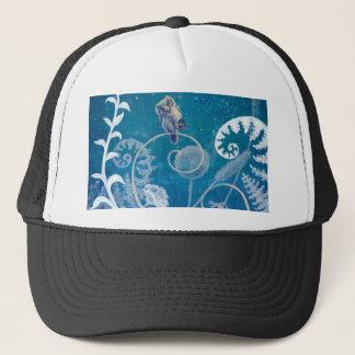 Little Amethyst Owl Trucker Hat