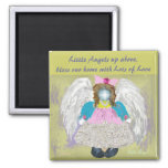 Little Angel 2 Inch Square Magnet