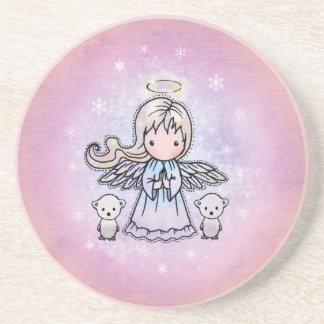Little Angel and 2 polar Bears Coaster