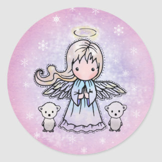 Little Angel and Polar Bears Stickers