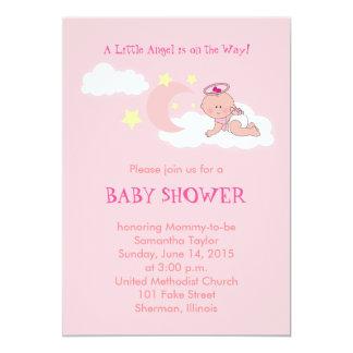 Little Angel Baby Shower Invitation