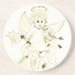 Little Angel Beverage Coaster