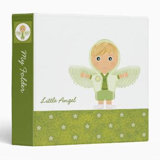 Little Angel Boy (med-wide) 3 Ring Binder