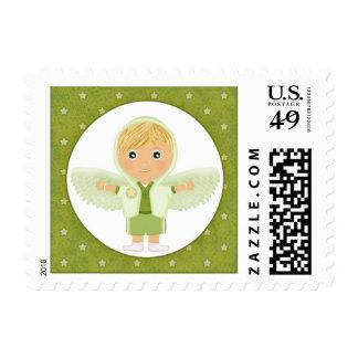 Little Angel Boy Postage Stamps