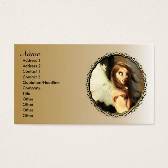 Little Angel Business Cards New