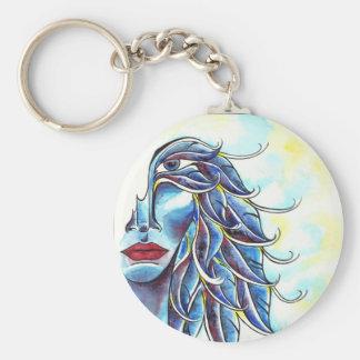 Little Angel Button Keychain