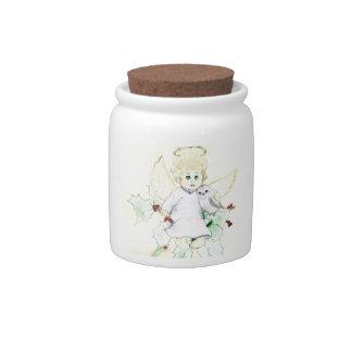 Little Angel Candy Jars
