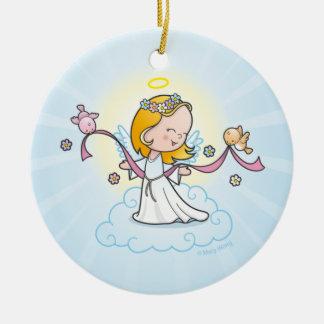 Little Angel Ceramic Ornament