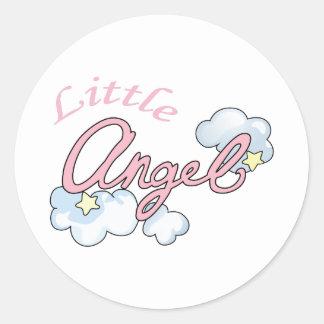 LITTLE ANGEL CLASSIC ROUND STICKER