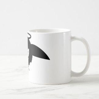 little angel classic white coffee mug
