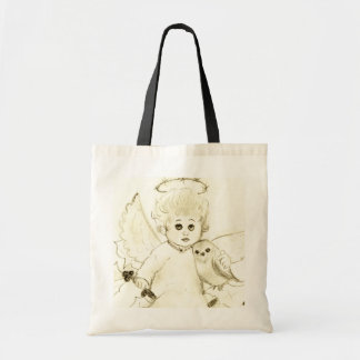 Little Angel Close Up Tote Bag