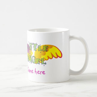 Little angel cup with name coffee mugs