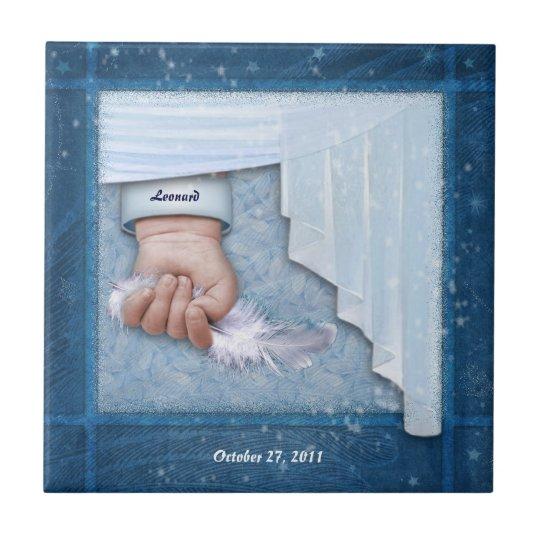 Little Angel (customizable) Ceramic Tile