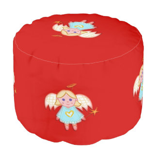 Little Angel Design Pouf