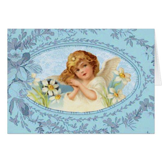 Little Angel Easter Card