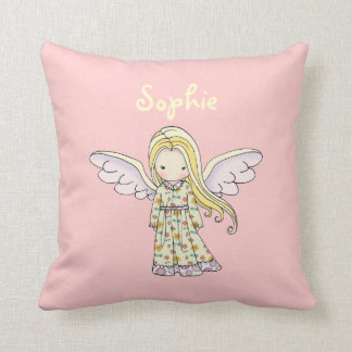 Little Angel Faerie Personalized Throw Pillow