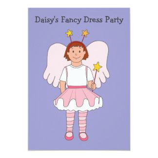 Little Angel Fancy Dress Party Invitation