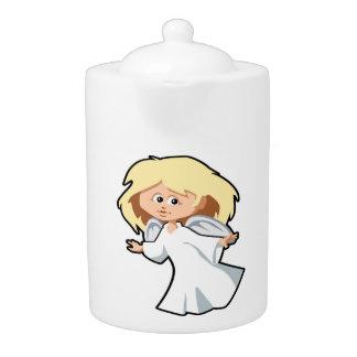 LITTLE ANGEL GIRL TEAPOT