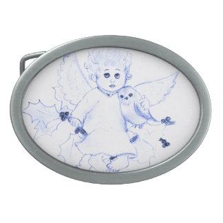 Little Angel in Blue Belt Buckles