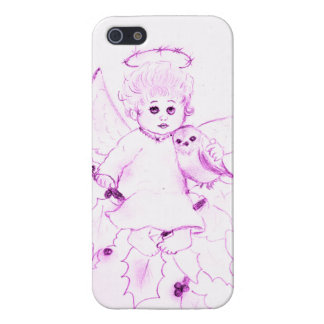 Little Angel in Pink iPhone SE/5/5s Case