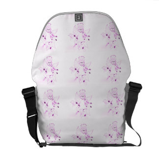Little Angel in Pink Messenger Bag