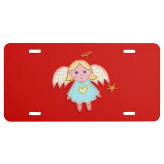Little Angel License Plate