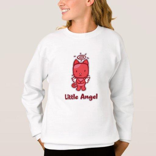 """""""Little Angel...Little Devil"""" Girl's Sweatshirt"""